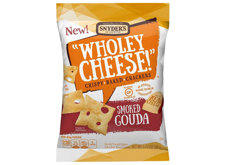 snyder wholey crackers baked gouda