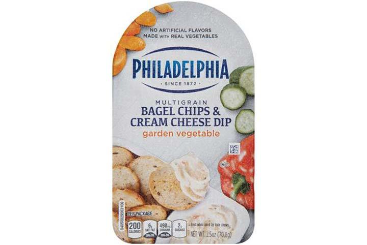 Philadelphia cream cheese vegetable