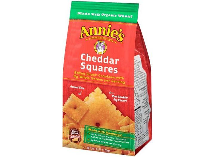 Annies cheddar squares
