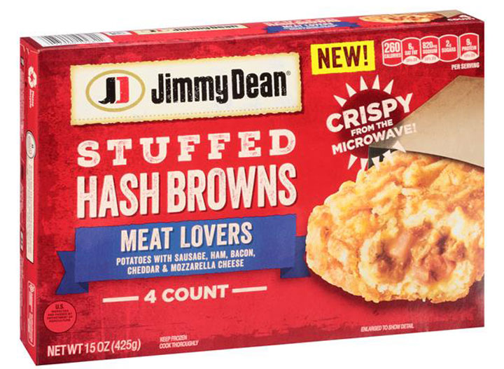 Jimmy Dean Meat Lover's Stuffed Hash Browns