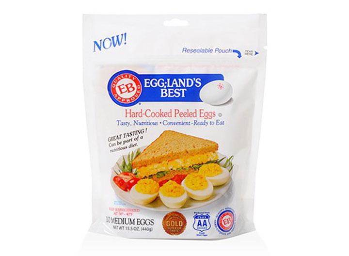 Egglands Best hard cooked peeled eggs