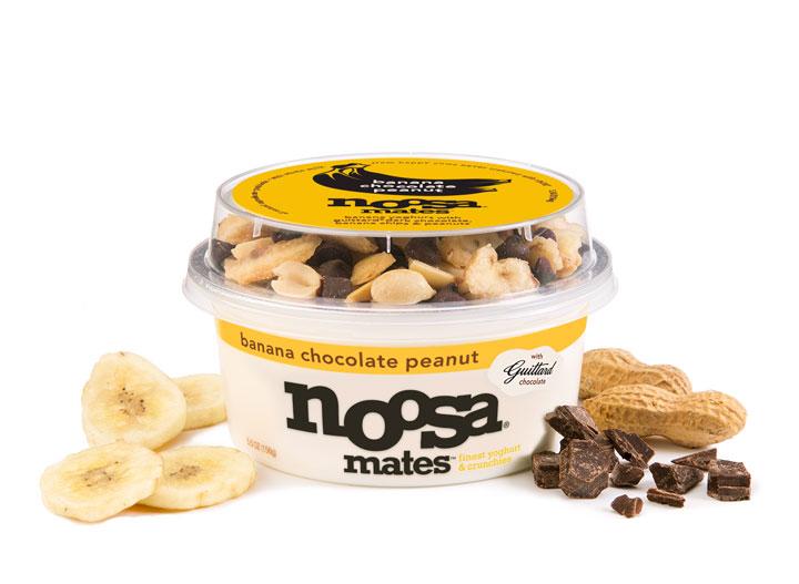 Noosa banana chocolate peanut yogurt