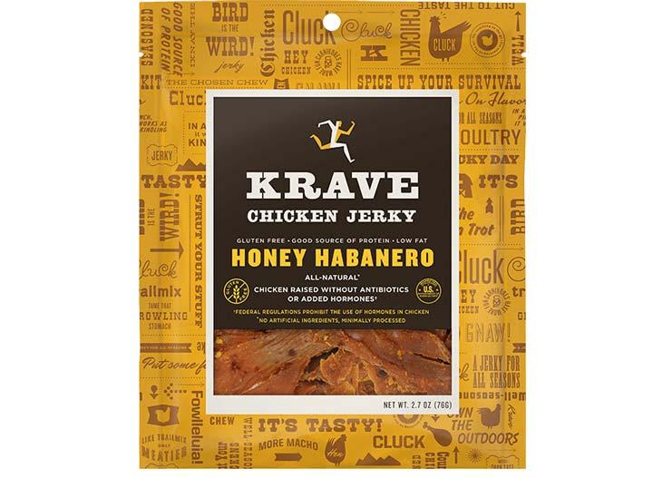 Krave jerky honey