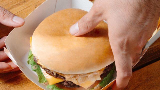 Carls jr burger