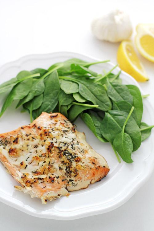 Garlic and Lemon Salmon