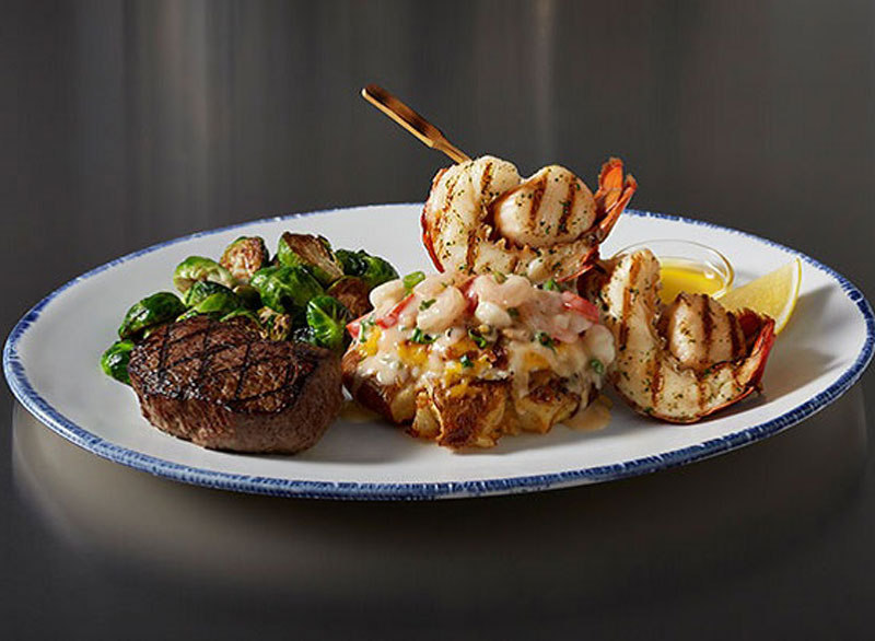 Red lobster surf and turf new york strip