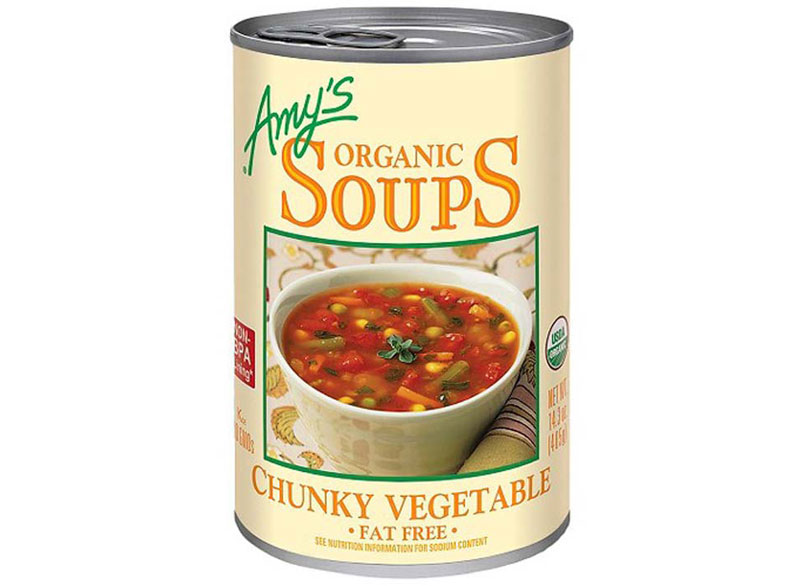 Amy's vegetable canned soup