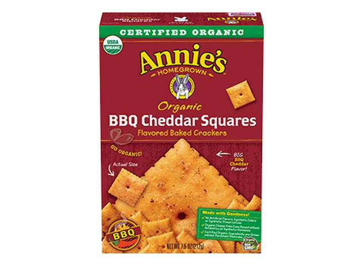 Annies bbq cheddar squares