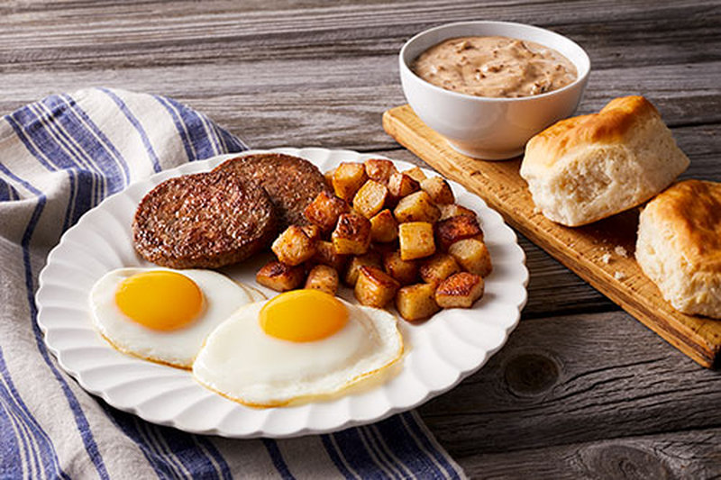 Bob evans homestead breakfast