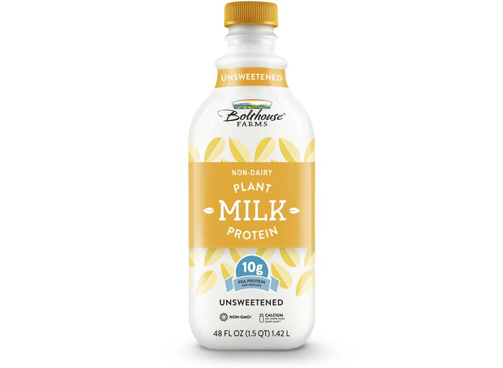 Bolthouse farms plant protein milk unsweetened