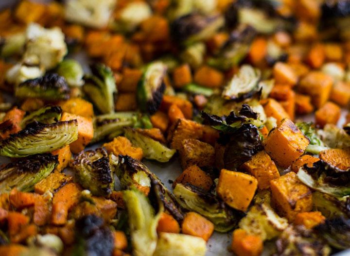 Cava roasted vegetables