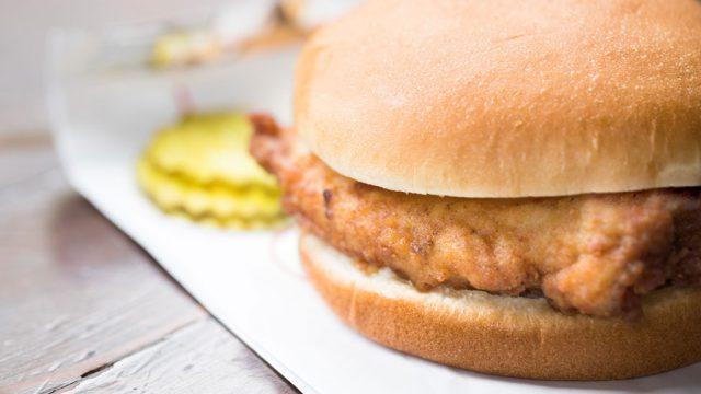 Chick fil a fried chicken sandwich