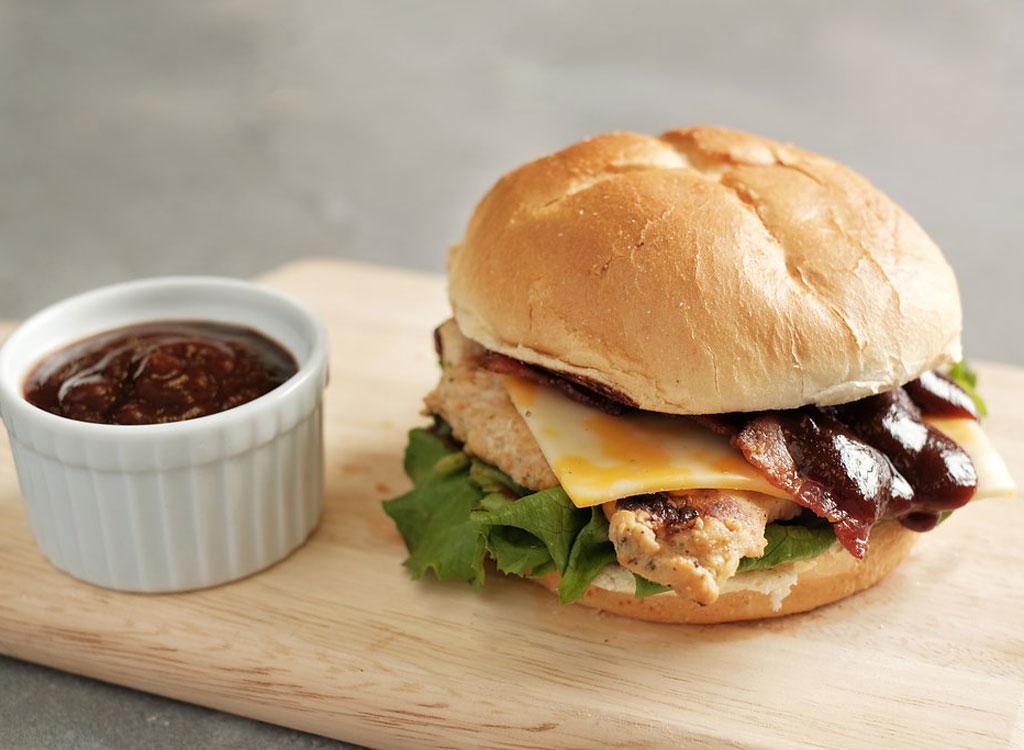 Chick-fil-A Smokehouse BBQ bacon sandwich