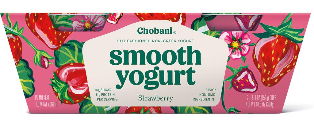 Chobani smooth strawberry