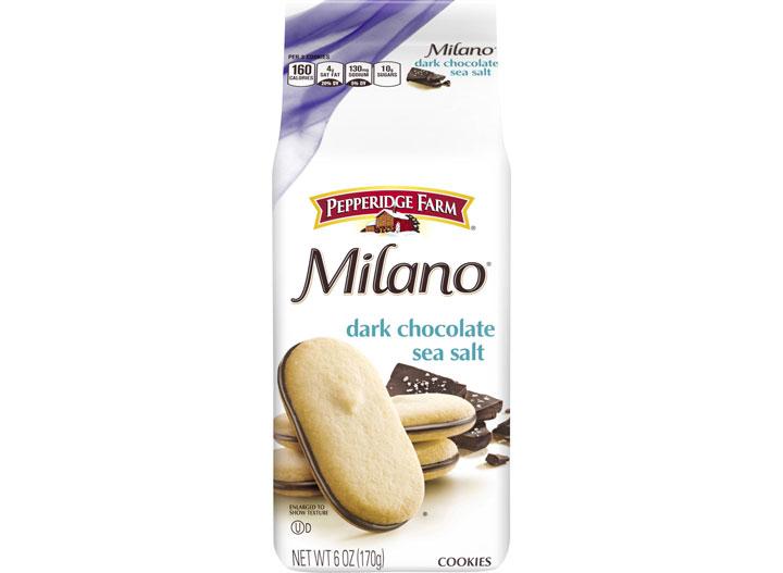 Dark chocolate milano cookies