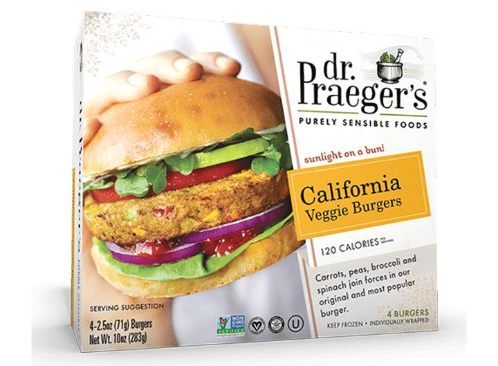 Dr Praegers california veggie burger