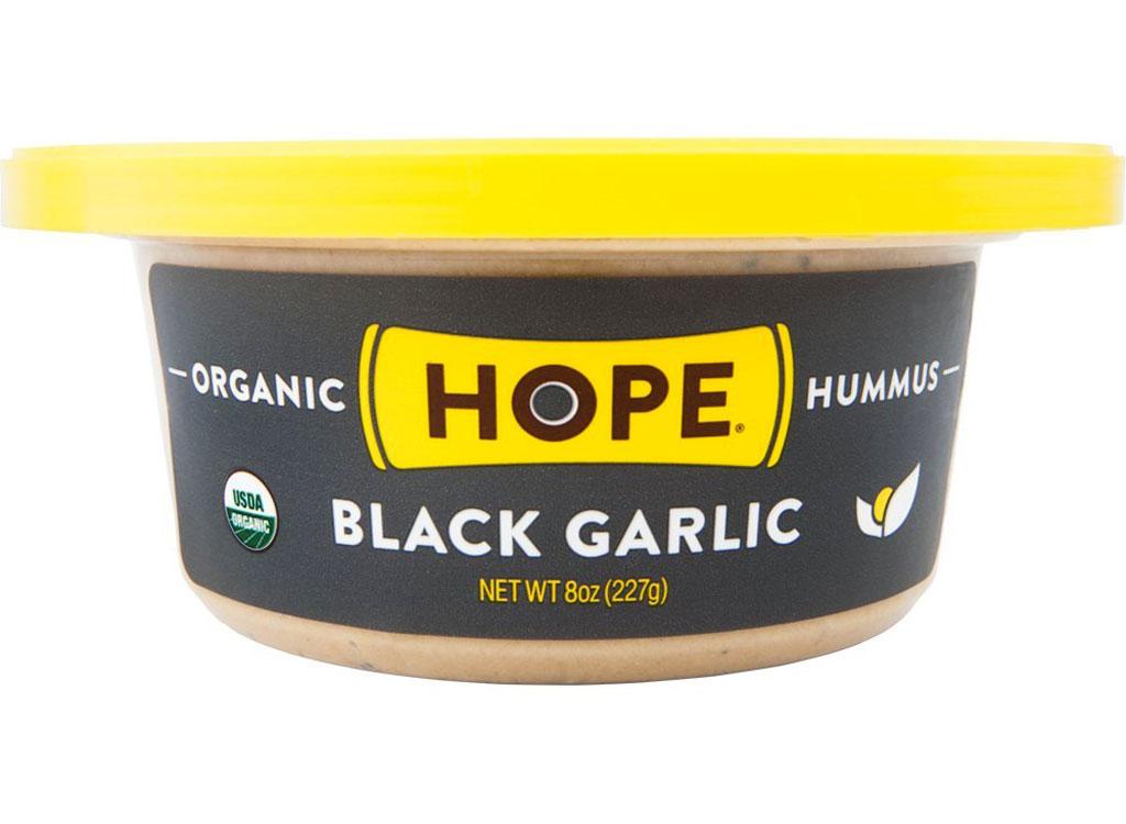 Hope foods black garlic hummus