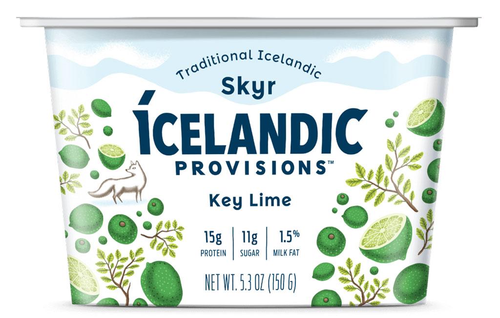Icelandic provisions key lime skyr