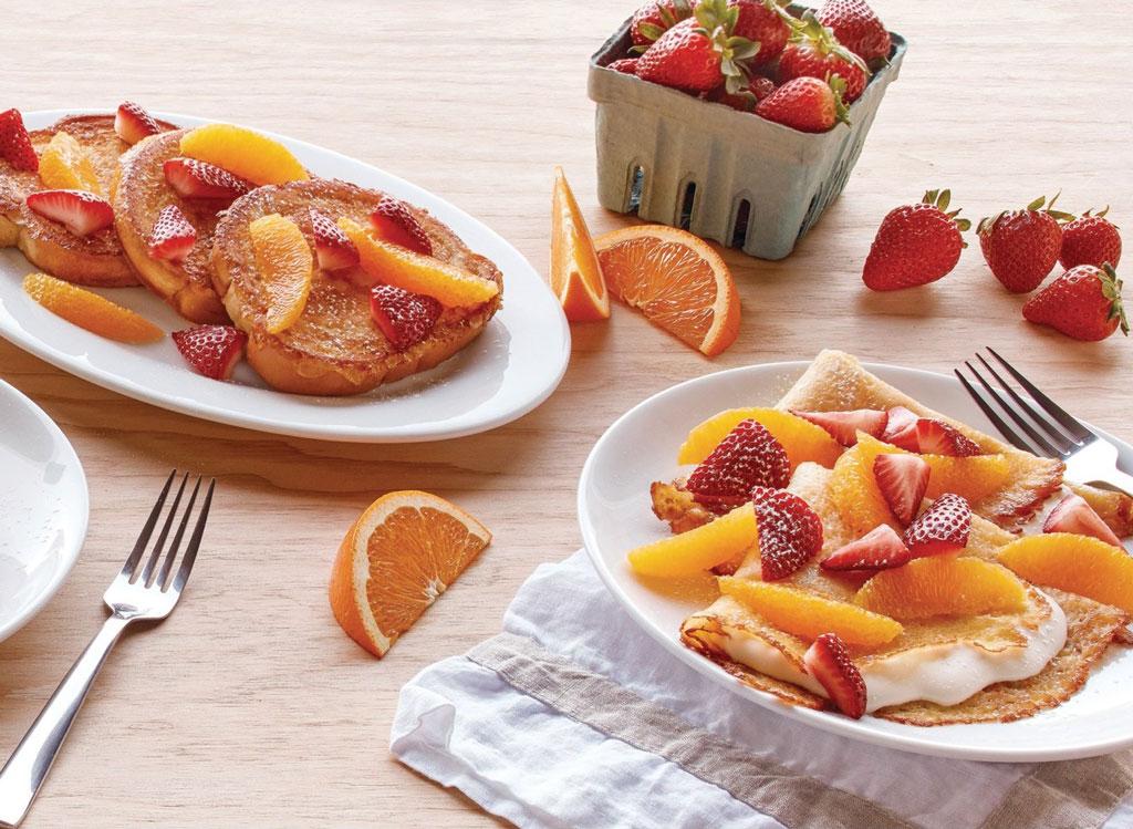 IHOP Strawberry Orange French Toast