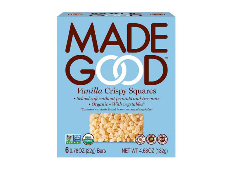 Made good vanilla crispy squares
