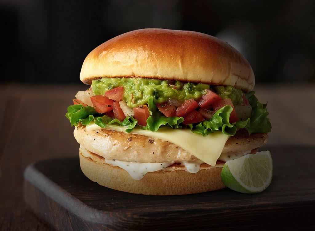 McDonald's Pico Guac Grilled Chicken Artisan Sandwich