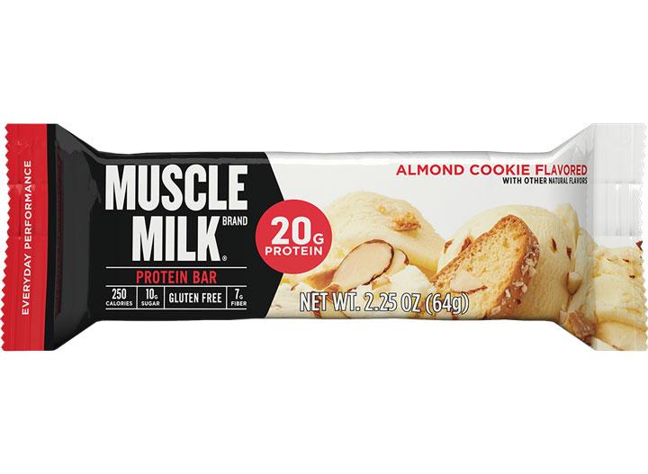 Muscle Milk almond cookie