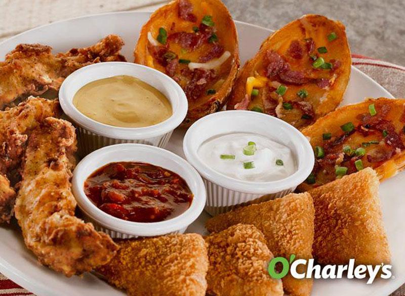 Ocharleys top shelf appetizers
