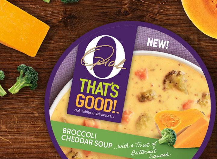 O thats good broccoli cheddar soup