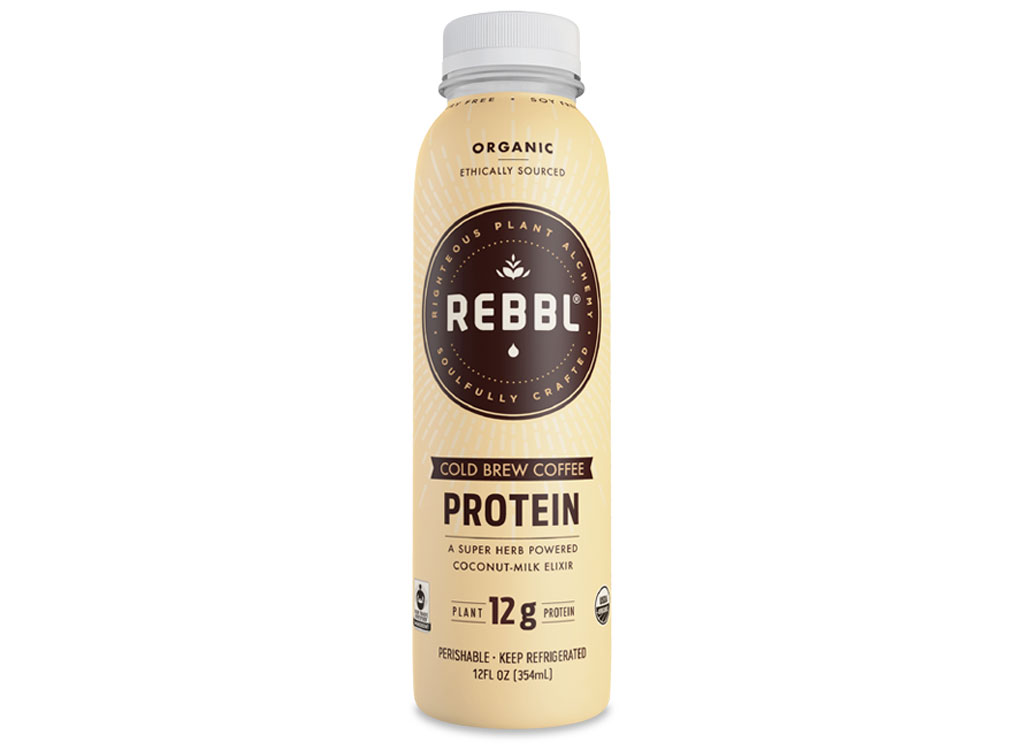 Rebbl cold brew protein
