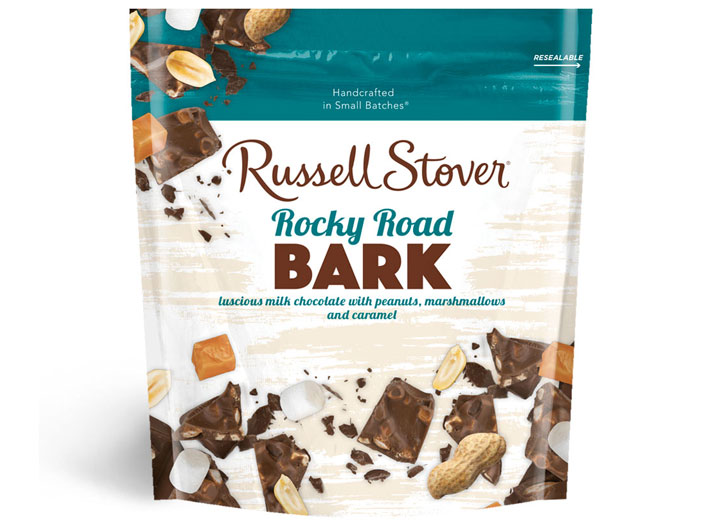 Russel stover rocky road bark