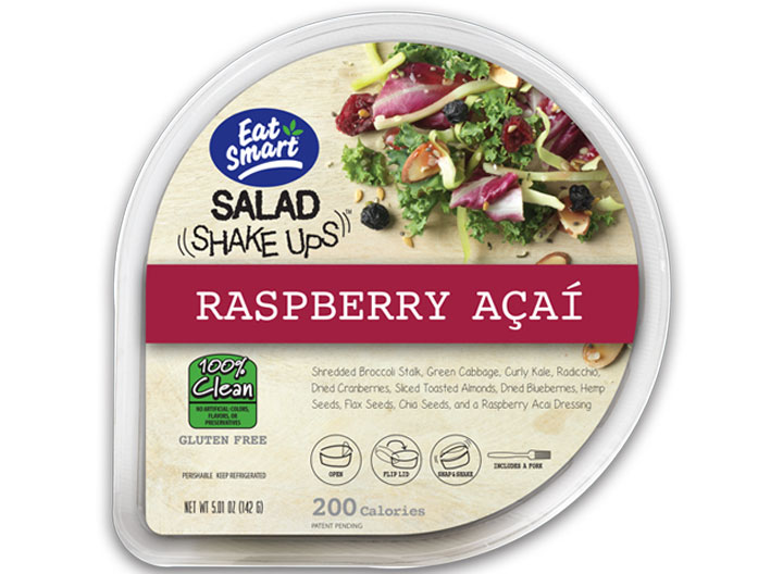 eat smart salad raspberry acai