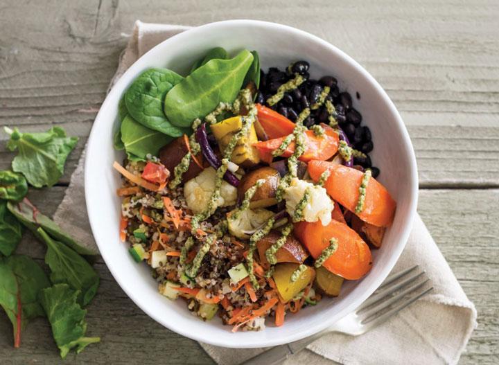 Sharkys vegetable bowl