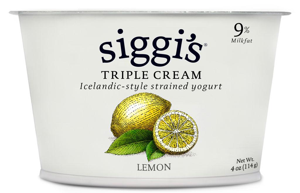 Siggis lemon triple cream
