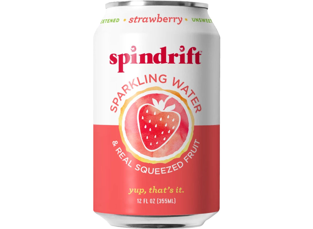 Spindrift sparkling water strawberry