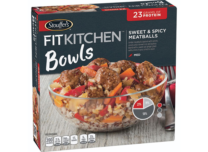 Stouffers fit kitchen meatballs