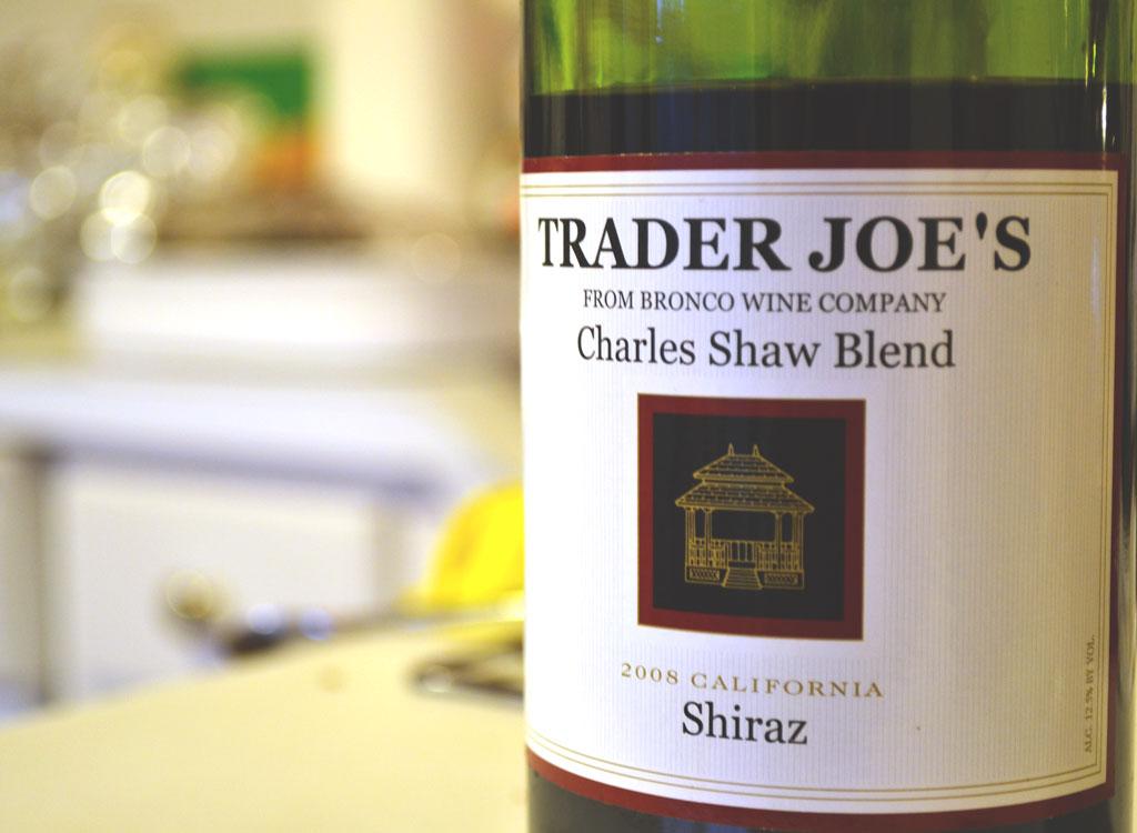 Trader joes charles shaw wine