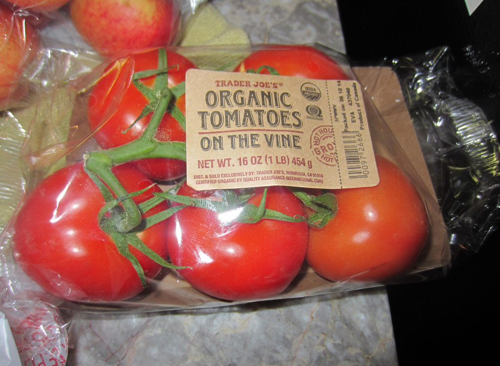Trader joes packaged produce tomatoes