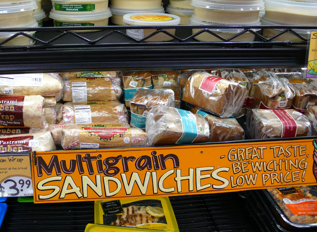 Trader joes sandwiches