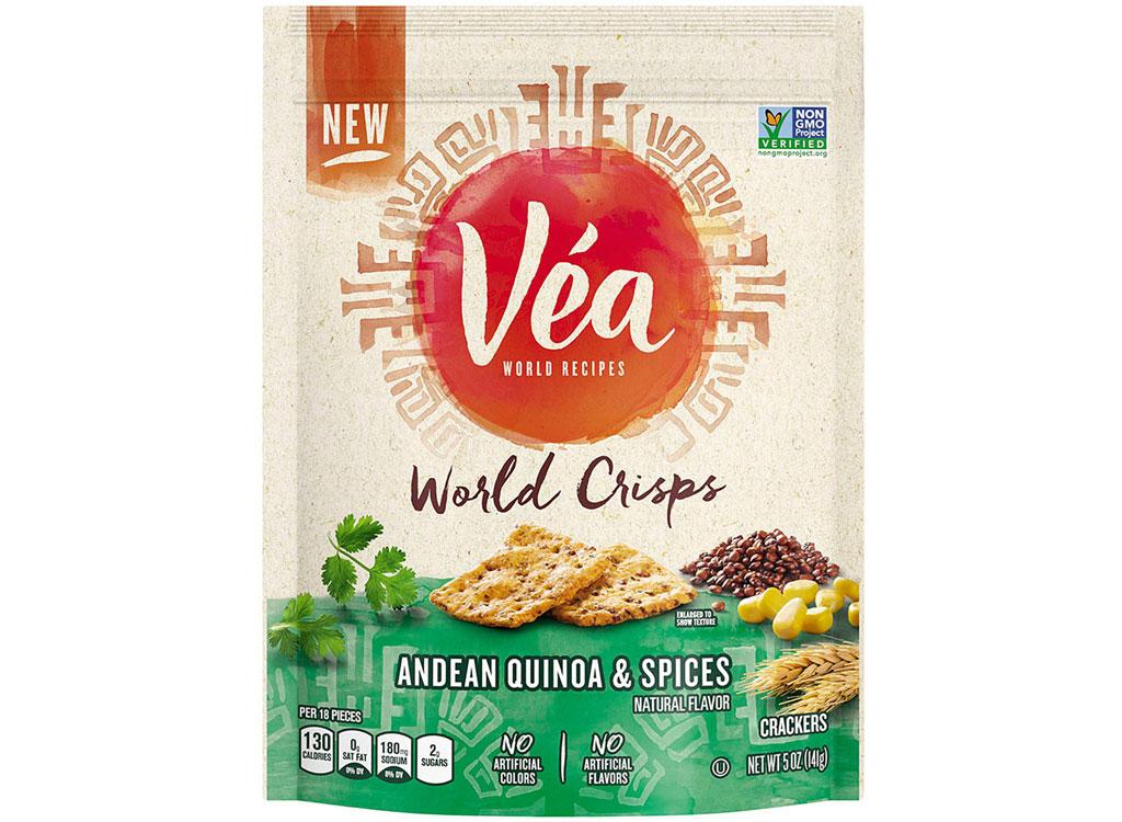 Vea world crisps andean quinoa and spices