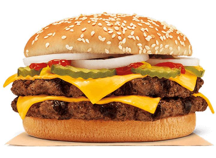 Burger King double quarter pounder king
