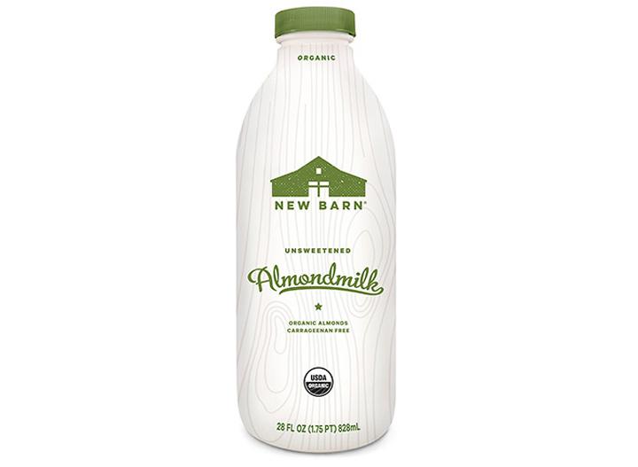 New Barn unsweetened almond milk