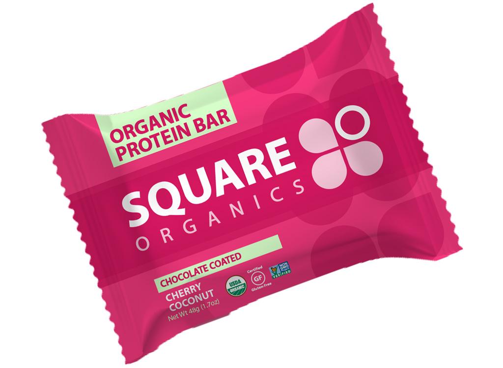 Sqare organics cherry coconut bar