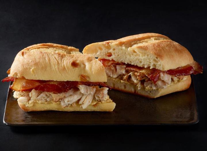 Starbucks chicken bacon panini
