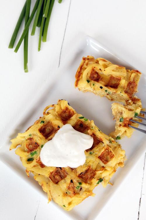 Parsnip waffle