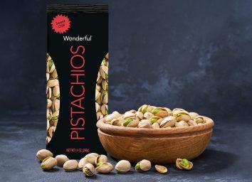 Wonderful sweet chili pistachios lead