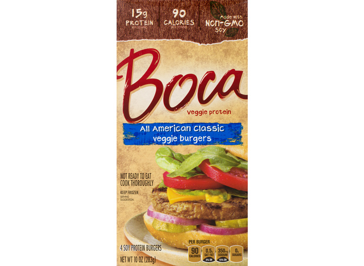 Boca American classic veggie burger