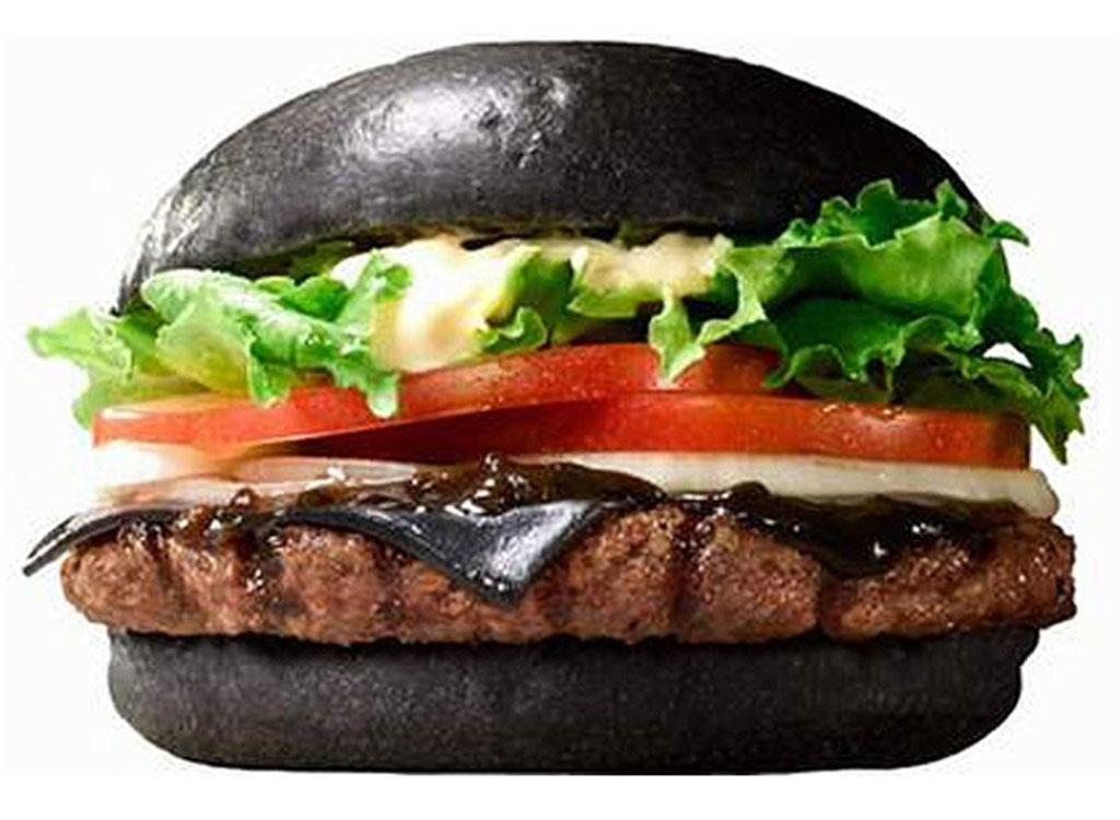 Burger king black burger japan
