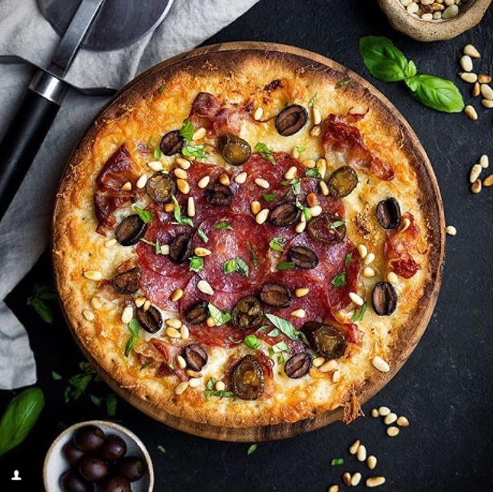 Caulipower pizza olives pepperoni