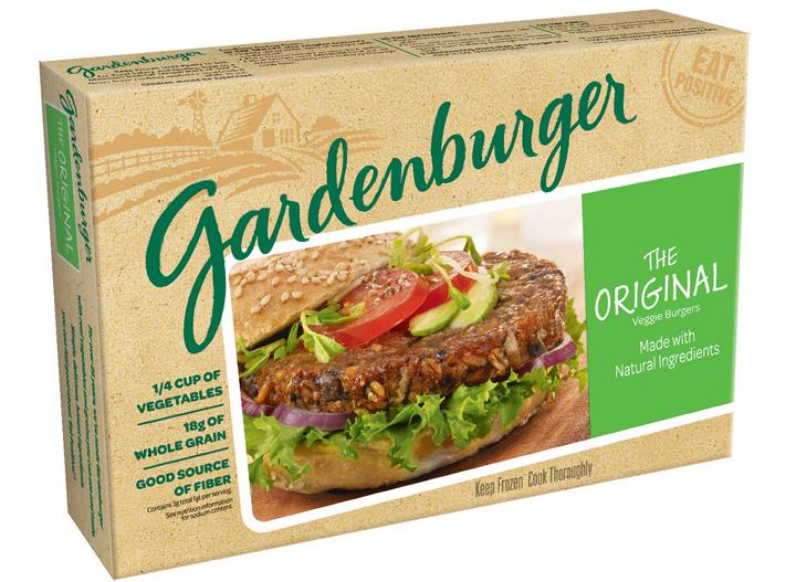 Gardenburger original veggie burger