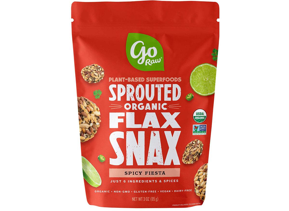 Go Raw Organic Spicy Fiesta Flax Snax